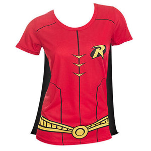 Robin Sublimated Caped Womens Costume Tee