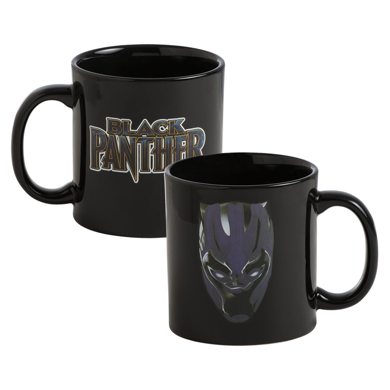Heat Marvel Panther Black Reactive Mug 0wOP8nkNX