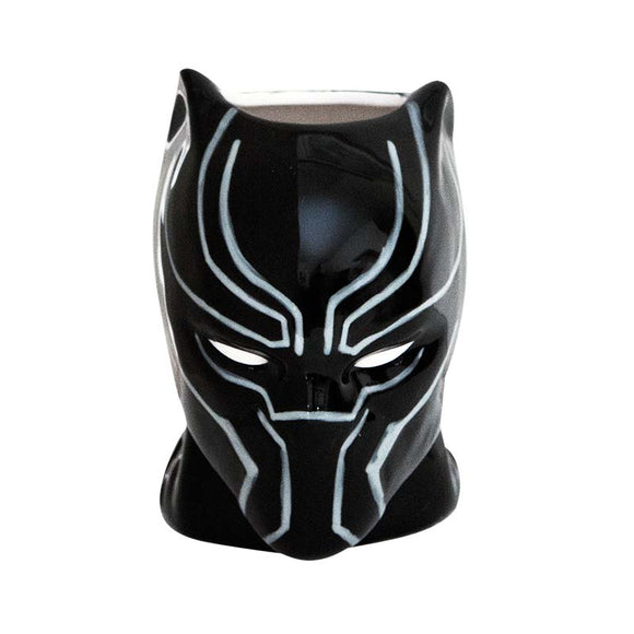 Black Panther Ceramic Molded Mug