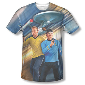 Star Trek Phasers Down Sublimation T-Shirt