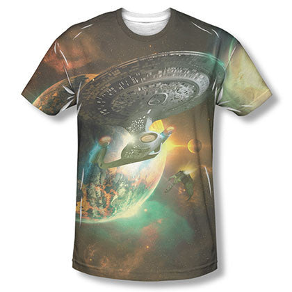 Star Trek Battleships Sublimation T-Shirt