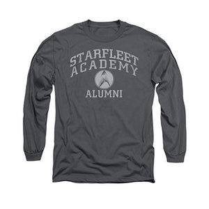 Star Trek Academy Alumni Gray Long Sleeve T-Shirt