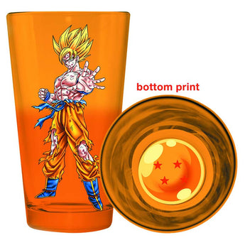 Dragonball Z Goku Glass