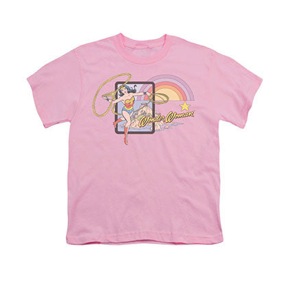 Wonder Woman Island Princess Pink Youth Unisex T-Shirt
