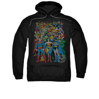 Justice League Black Original Universe Pullover Hoodie