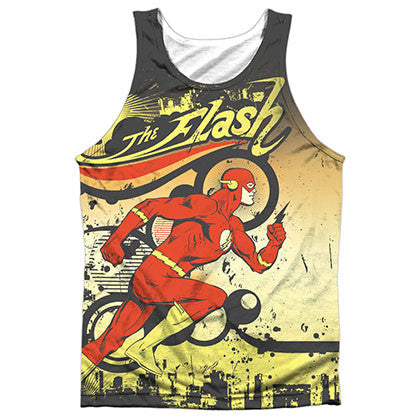 The Flash Passing Through Sublimation Tank Top