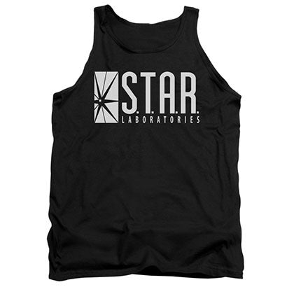 The Flash STAR Black Tank Top