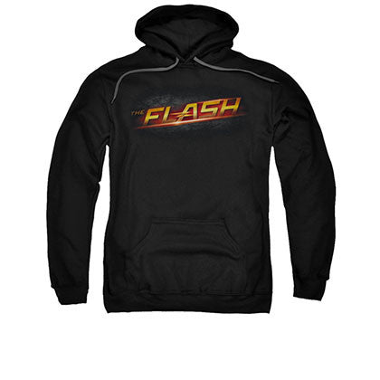 The Flash Logo Black Pullover Hoodie