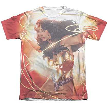 Wonder Woman Glow Sublimation T-Shirt