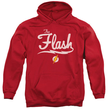 The Flash Old School Adult Hoodie