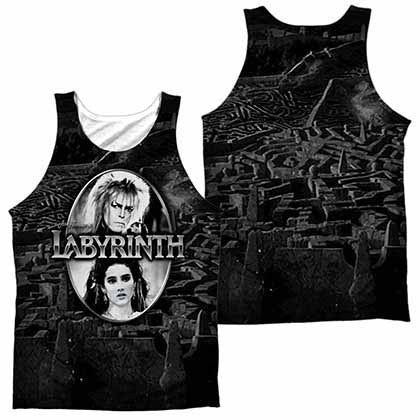 Labyrinth Maze Sublimation Tank Top