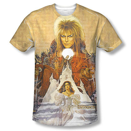 Labyrinth Cover Art Sublimation T-Shirt