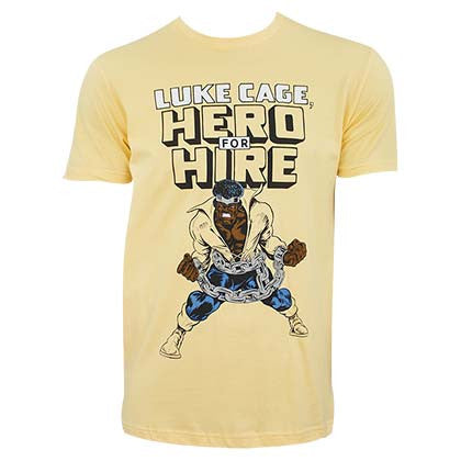 Luke Cage Hero For Hire Tee Shirt