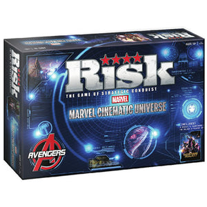 Marvel Risk Board Game