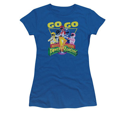 Power Rangers Juniors Blue Go Go Tee Shirt