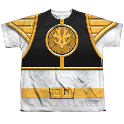 Power Rangers White Ranger Youth Costume Tee