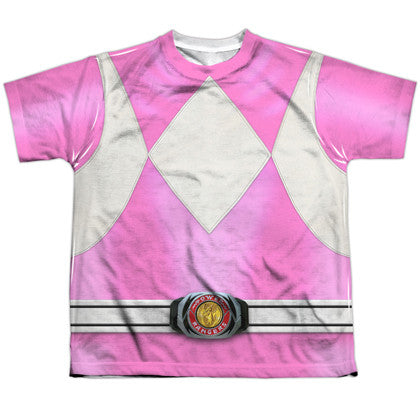 Power Rangers Pink Ranger Youth Costume Tee