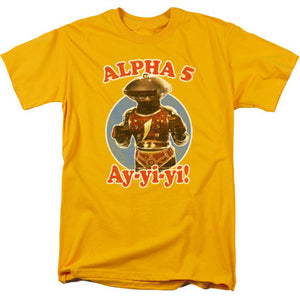 Power Rangers Alpha 5 Tshirt