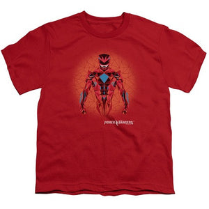 Power Rangers Red Ranger Youth Tshirt