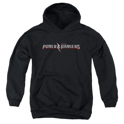 Power Rangers The Movie Logo Youth Hoodie