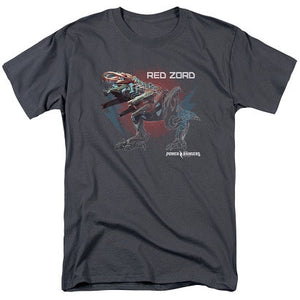 Power Rangers The Movie Red Zord Tshirt