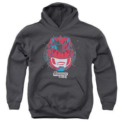 Power Rangers The Movie Its Morphin Time Youth Hoodie