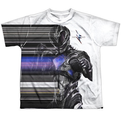 Power Rangers The Movie Black Streak Youth Tshirt