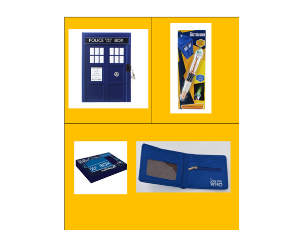 DOCTOR WHO TRIPLE THE FUN BUNDLE