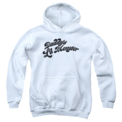Suicide Squad Harley Quinn Daddys Lil Monster Youth Hoodie