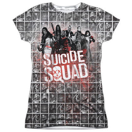 Suicide Squad The Squad Women's Sublimated Shirt