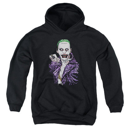 Suicide Squad Joker Switchblade Youth Hoodie