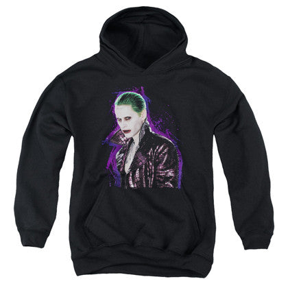 Suicide Squad Joker Stare Youth Hoodie