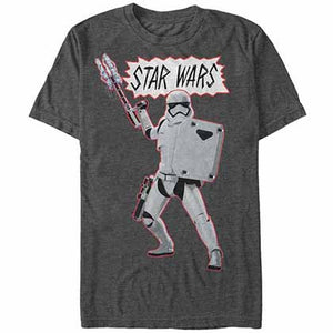Star Wars - Episode 7 War Gray T-Shirt