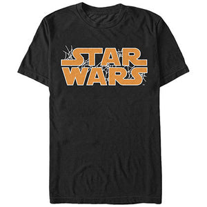 Star Wars Web Logo Black T-Shirt