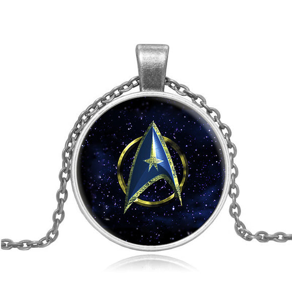 Star Trek Glass Dome Pendant Necklace