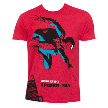 Spiderman Michael Cho Red Shirt