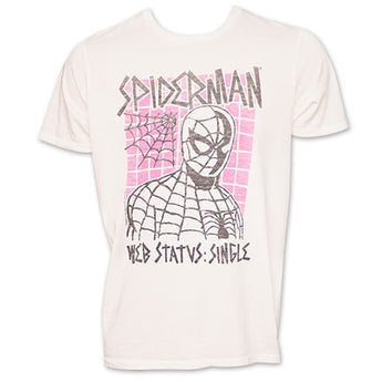 Junk Food Brand Spiderman TShirt - White