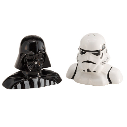 Star Wars Darth Vader & Storm Trooper Salt & Pepper Shaker Set