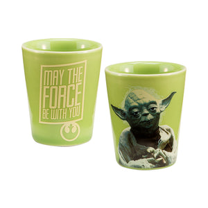Star Wars Yoda Ceramic Shot Glass