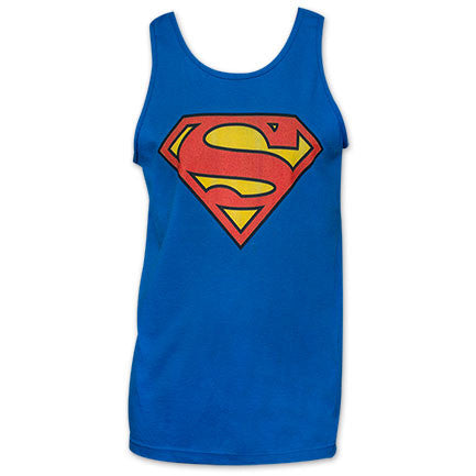 Superman Classic Tank Shirt - Blue