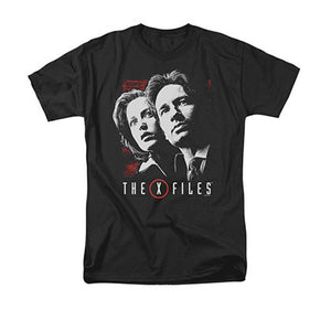 The X-Files Mulder & Scully Black T-Shirt