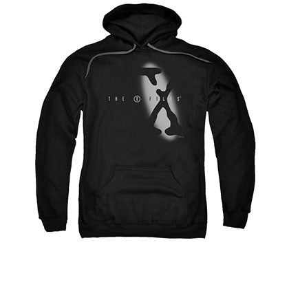 X-Files Spotlight Black Pullover Hoodie
