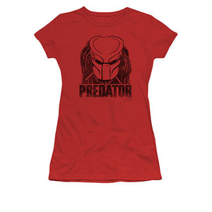 Predator Juniors Red Logo Tee Shirt