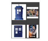 DOCTOR WHO BUNDLE UP WITH THE TARDIS