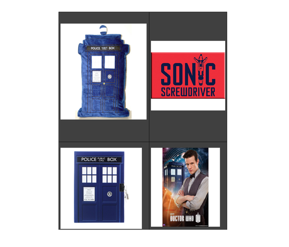 DOCTOR WHO BUNDLE TARDIS 2