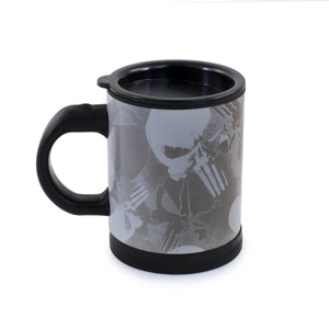 www.scifigeekstore.com The Punisher Self Stirring Mug.
