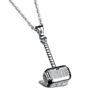 Thor Hammer Neckless. Stainless Steel.