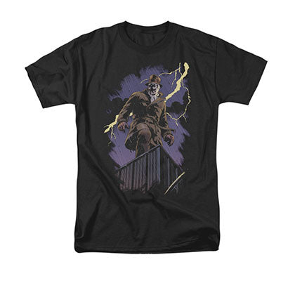 Watchmen Rorschach Night Black T-Shirt