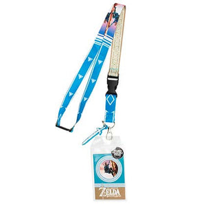 The Legend Of Zelda Breath Of The Wild Comic Lanyard