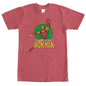 Iron ManFloater Red Mens T-Shirt